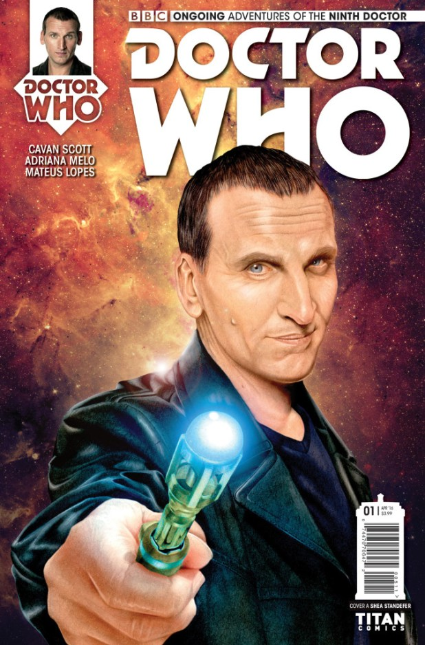Doctor Who: The Ninth Doctor #1 Ongoing Cover A by Shea Standefer