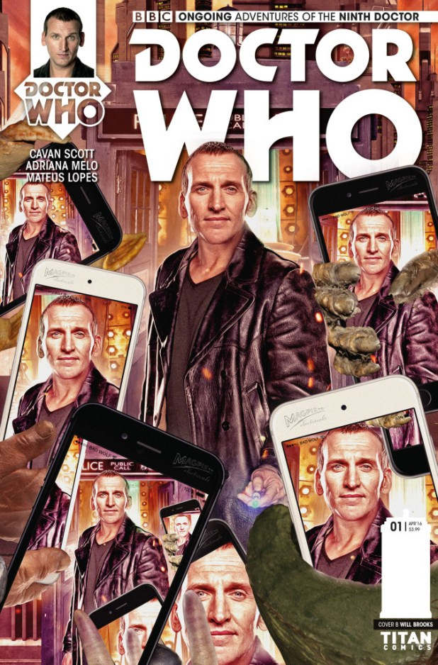 Doctor Who: The Ninth Doctor #1 Ongoing Cover B - Photo Cover