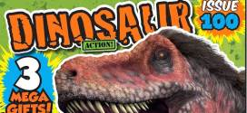 Dinosaur Action set to celebrate 100th issue with Top Dino Facts, Dino Blaster and More