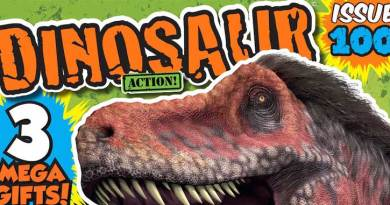 Dinosaur Action Issue 100 - Cover SNIP