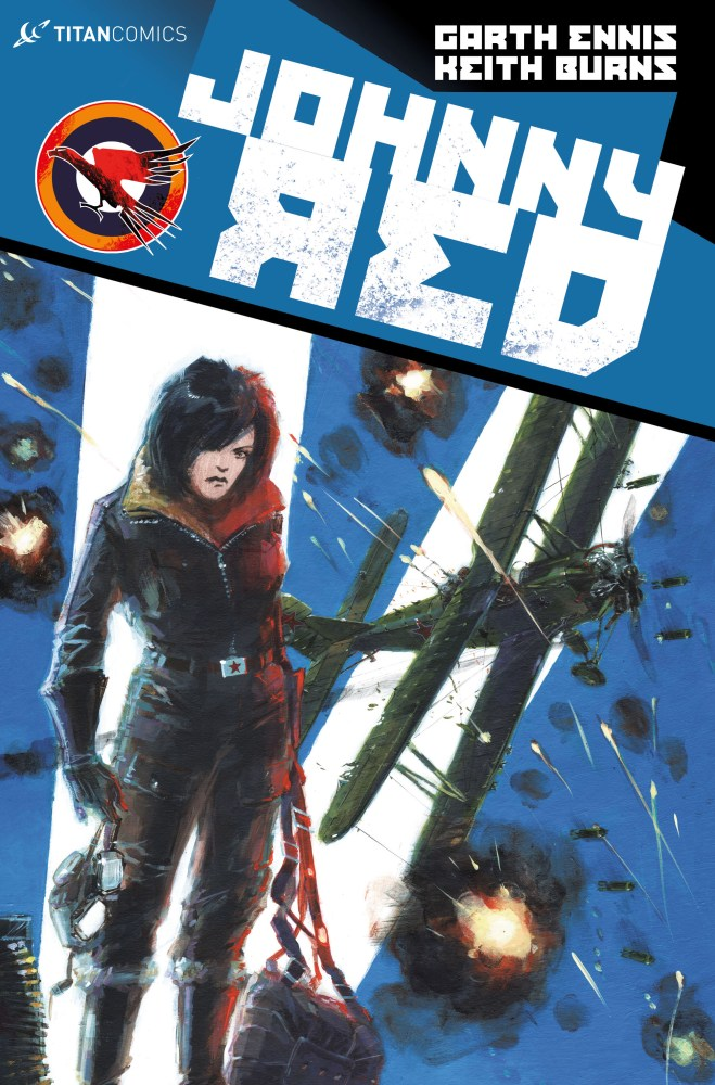 Johnny Red #3 - Regular by Keith Burns