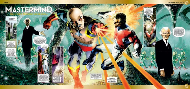 Marvel Fact Files Issue 149 Mastermind Gatefold