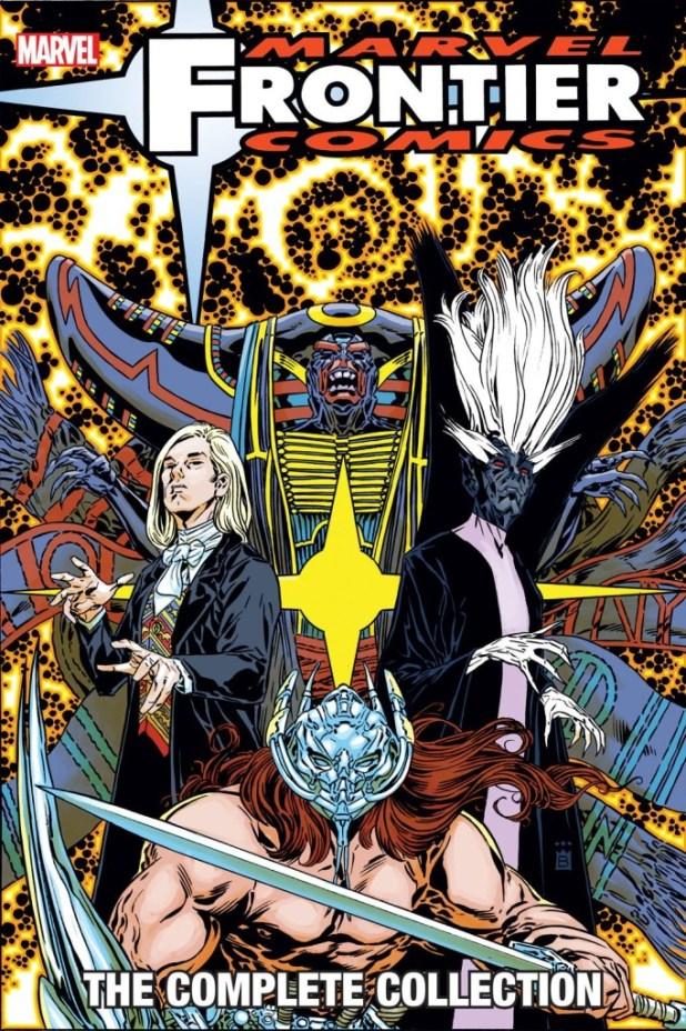 Marvel Frontier Comics Trade Paperback