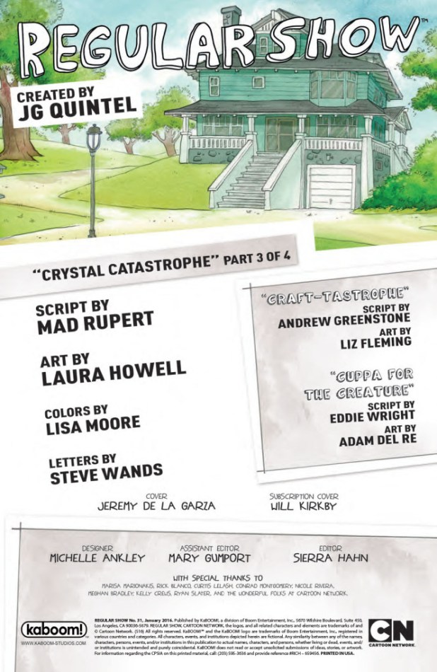 The Regular Show #31 - Preview 1
