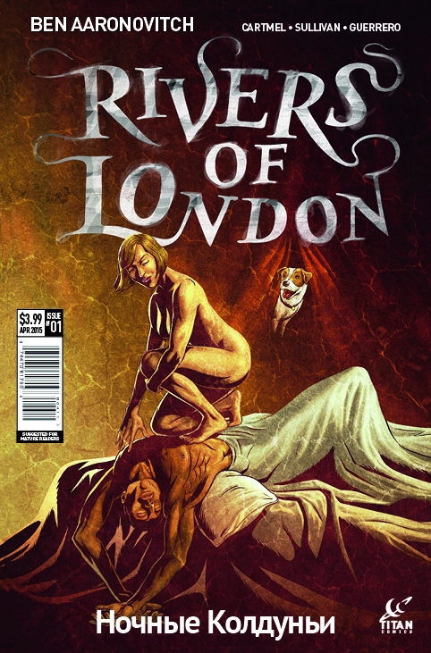 Rivers of London - Night Witch #1 Cover C by Lee Sullivan