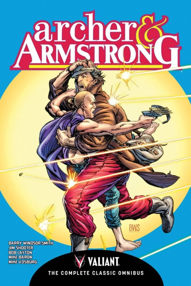 Archer & Armstrong Comp Classic Omnibus Hard Cover