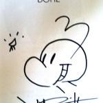 Jeff Smith - Bone Slipcase Image, original image on Title Page