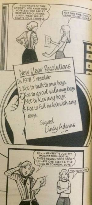 Jackie: New Year's Resolutions 1978