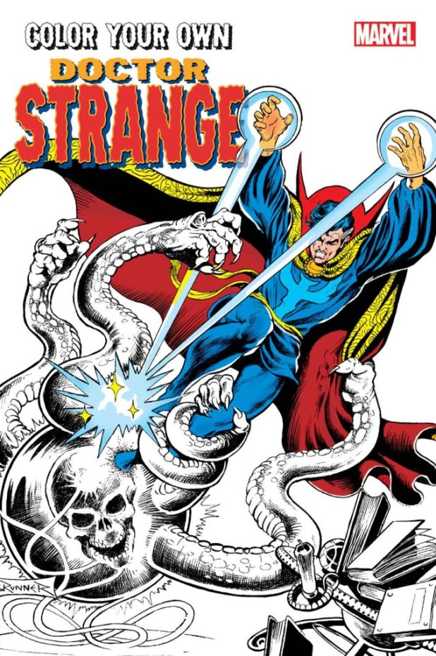 Doctor Strange Coloring Book 2016