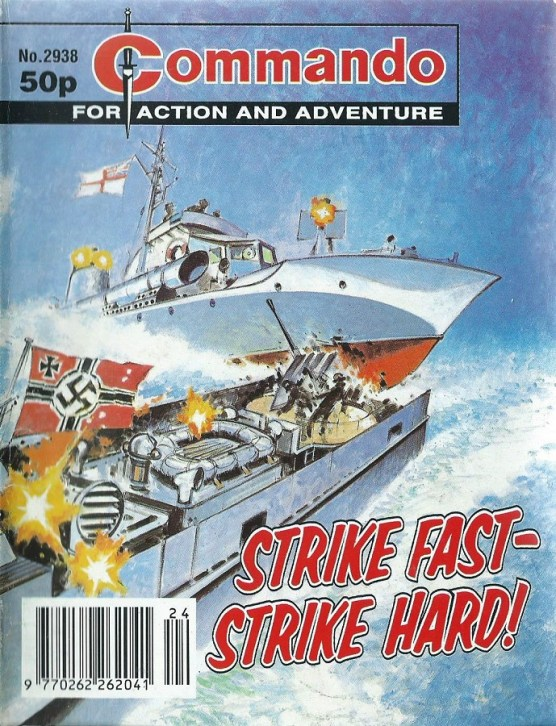 "Commando Issue 2938 ""Strike Fast - Strike Hard!"""