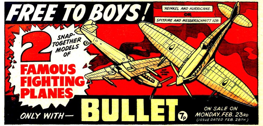 Bullet Issue Two Promotional Ad