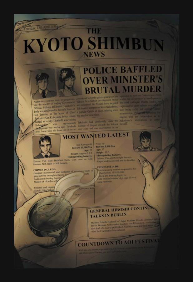 Dark Mists 2 Kurotobi Skies - Page 6