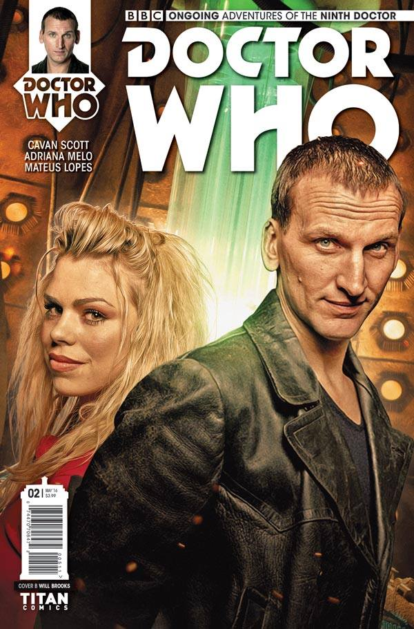 Doctor Who: The Ninth Doctor #2 - Cover B - Photo Cover