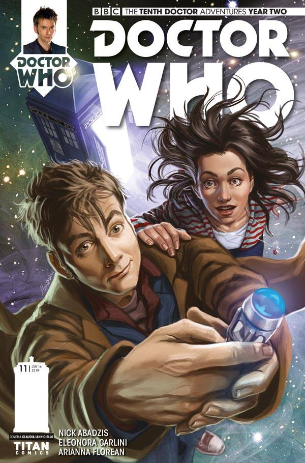 Doctor Who: The Tenth Doctor Year Two #11 - Cover A