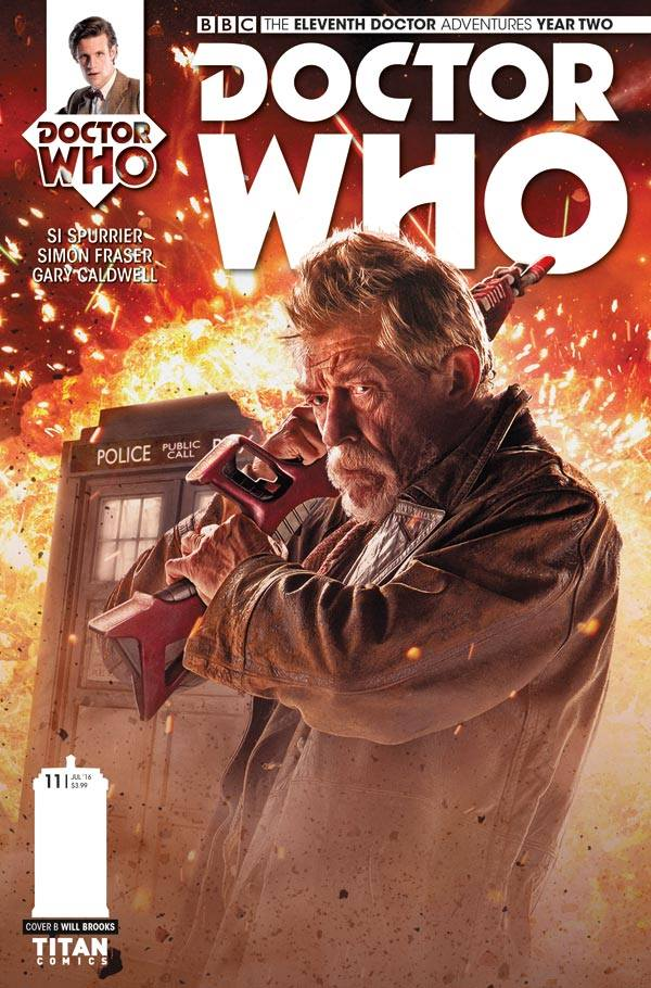 Doctor Who: The Eleventh Doctor: Year Two #11 Cover B - Photo Cover