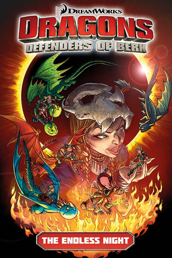 Dragons Defenders Of Berk Volume One - The Endless Night