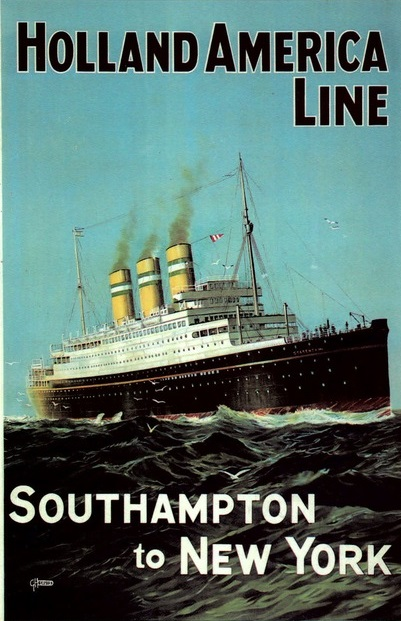 GHD Holland America Line Advertising Poster