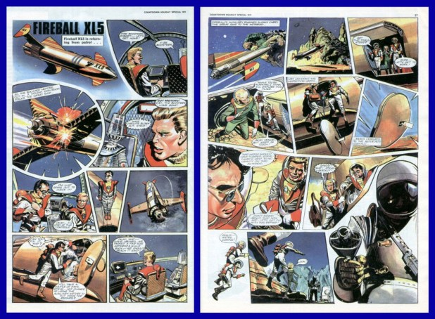 Hampson's Fireball XL5 artwork