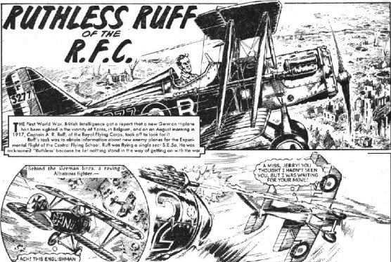 "Hotspur Issue 156: ""Ruthless Ruff of the RFC"""