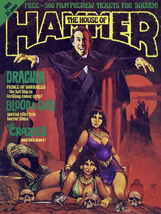The House of Hammer Issue 6. Cover by Brian Lewis