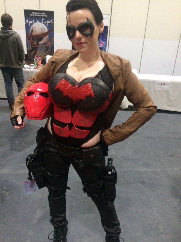 Cosplayer at London Super Comic Con. She's been a cosplayer for about seven years. Photo: Antony Esmond