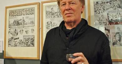Pat Mills and Charley's War art