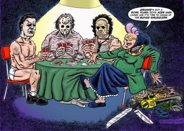 Psycho Gran Vs... Promotional Image