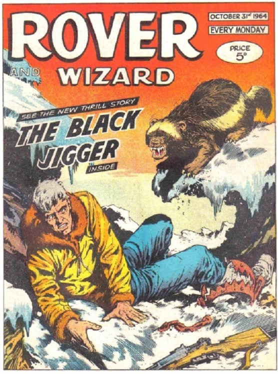 Rover and Wizard cover dated 31 October 1964