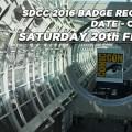 SDCC 2016 Badge Registration Image