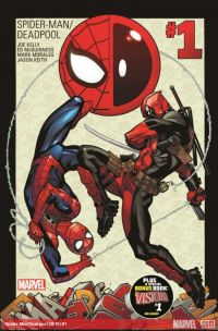 Spider-Man/Deadpool #1 - Cover