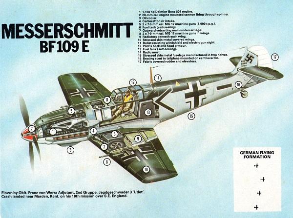 True War 2 BF109 DTT