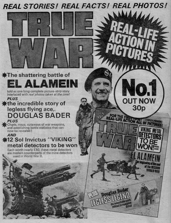 True War Issue 1 Advert DTT
