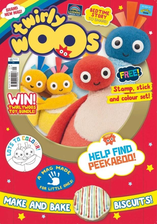 Twirlywoos Issue 1