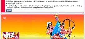 "Facebook ""unpublishes"" VIZ official page on social media site"