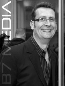 Andrew Mark Sewell, director of the new Dan Dare audio adventures