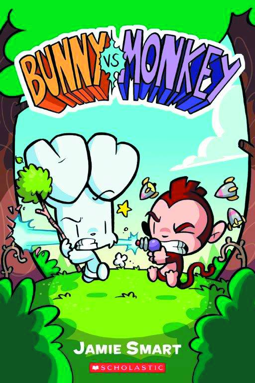 Bunny Vs Monkey Graphic Novel