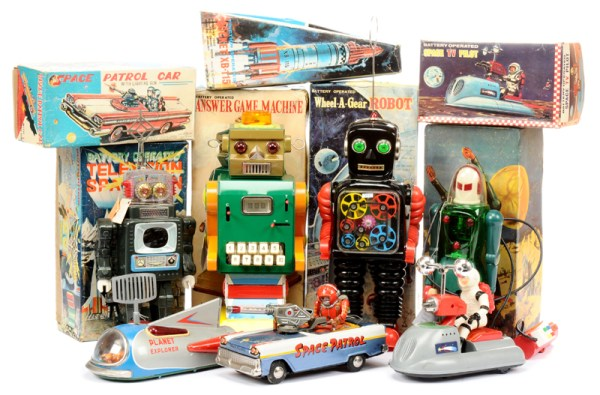 "Vectis ""out of this world"" Robot auction - March 2016"