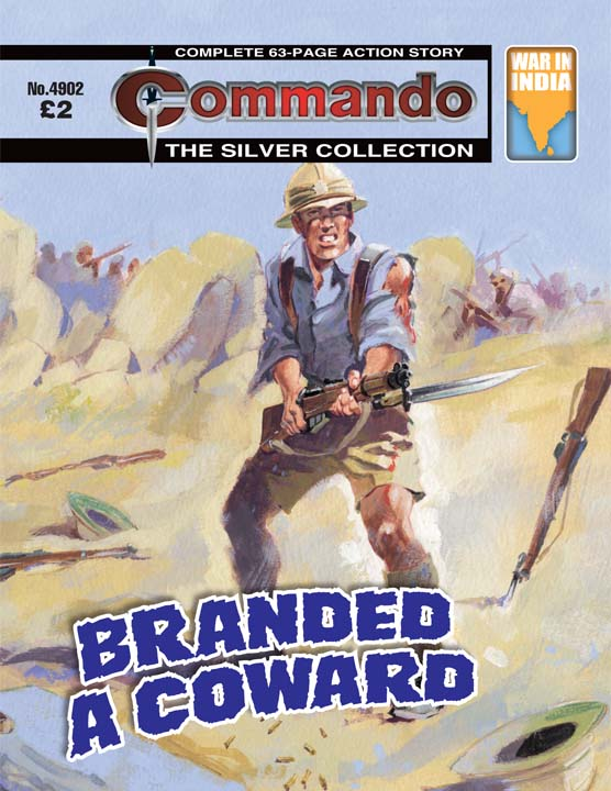 Commando 4902 – Branded A Coward
