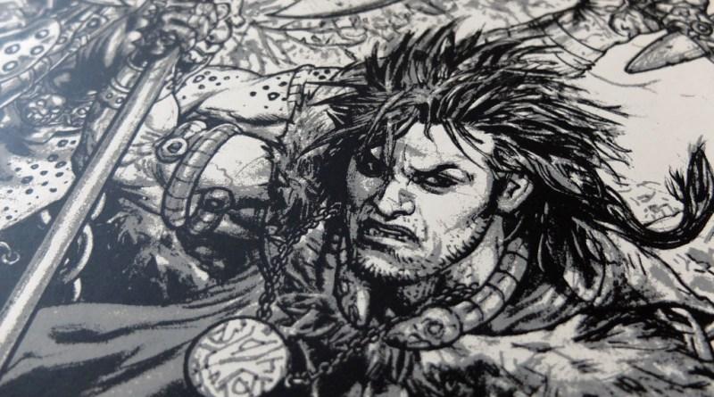 Slaine Art Print by Glenn Fabry - SNIP