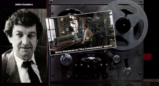 Eagle Daze 8– John Sanders and stills from The Conversation movie