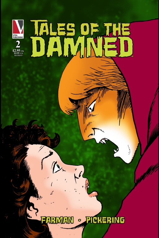 Tales Of The Damned Book 2 Issue 1 - Cover