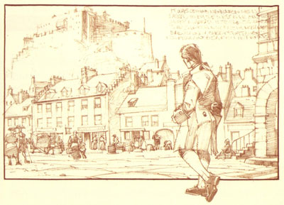 Kidnapped - Grassmarket initial design by Cam Kennedy