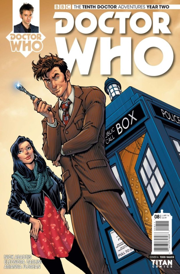 Doctor Who: The Tenth Doctor Year Two #8 - Cover A