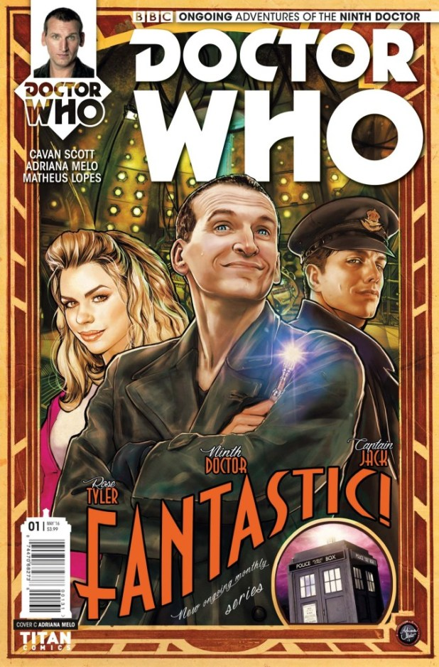 Doctor Who: The Ninth Doctor #1 (Ongoing) - Cover C by Adriana Melo