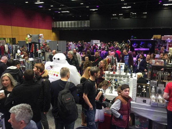 Crowds at Edinburgh Comic Con 2016. Image  © http://filmcell.co.uk
