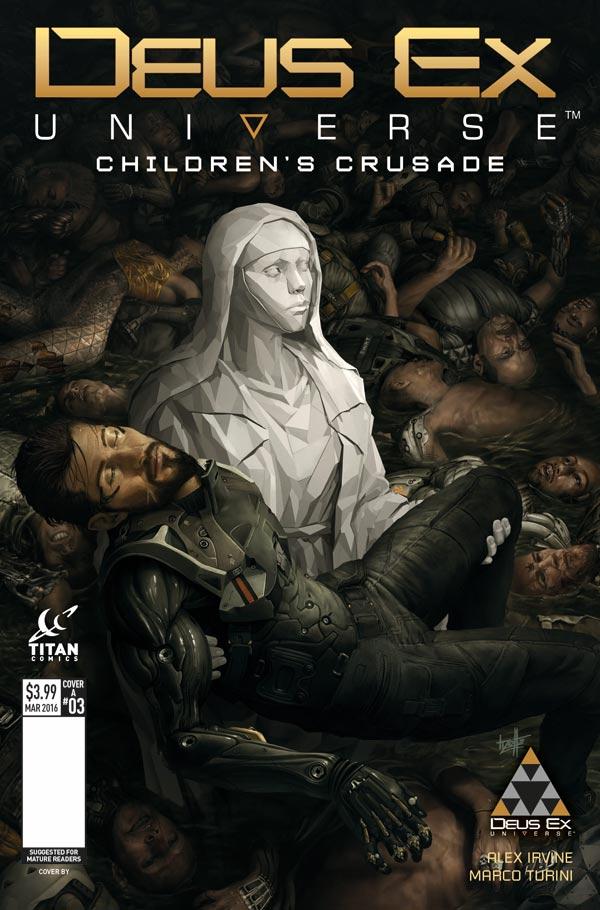 Deus Ex #3 - Cover A