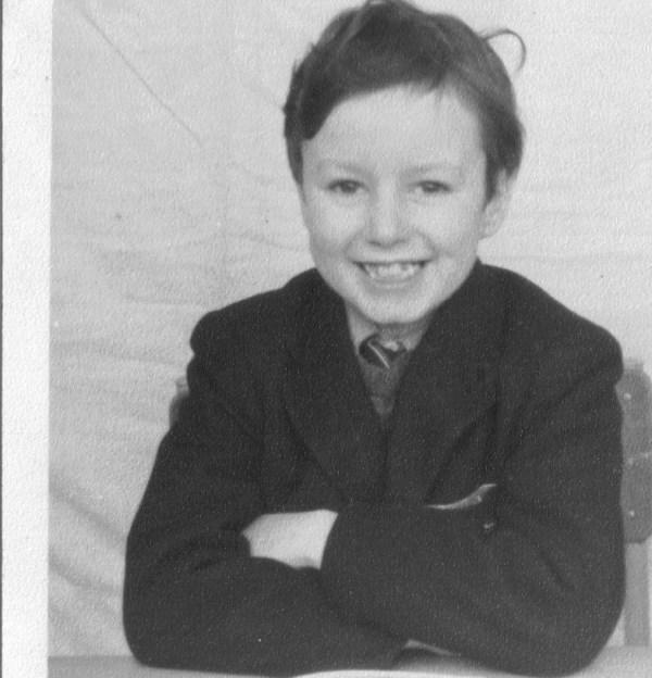 The schoolboy Gerry Dolan