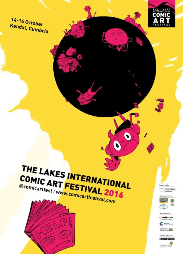 Lakes International Comic Art Festival Art 2016 by Ken Niimura