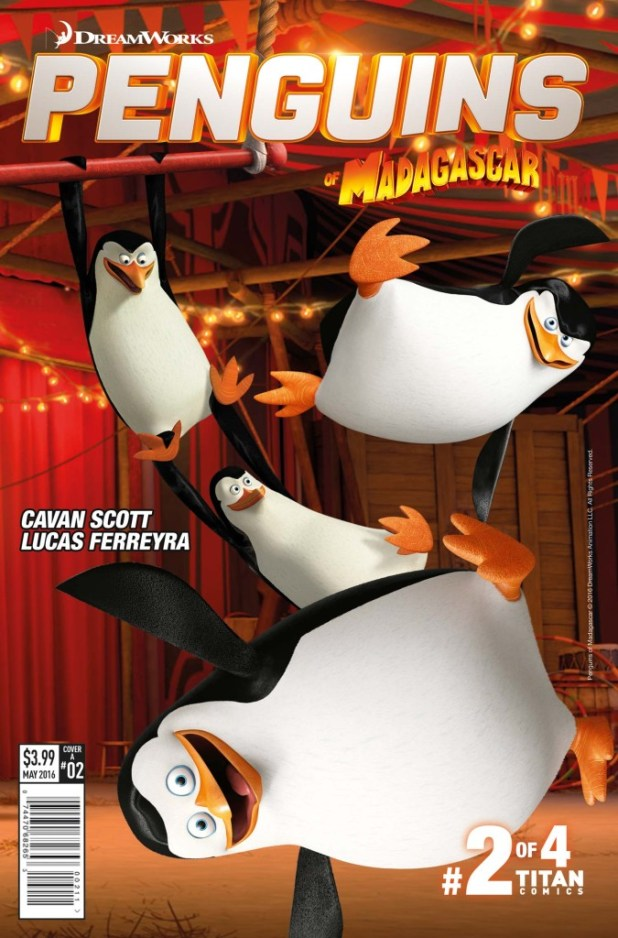 Penguins Of Madagascar: Elitest Of Elite #2 - Cover A