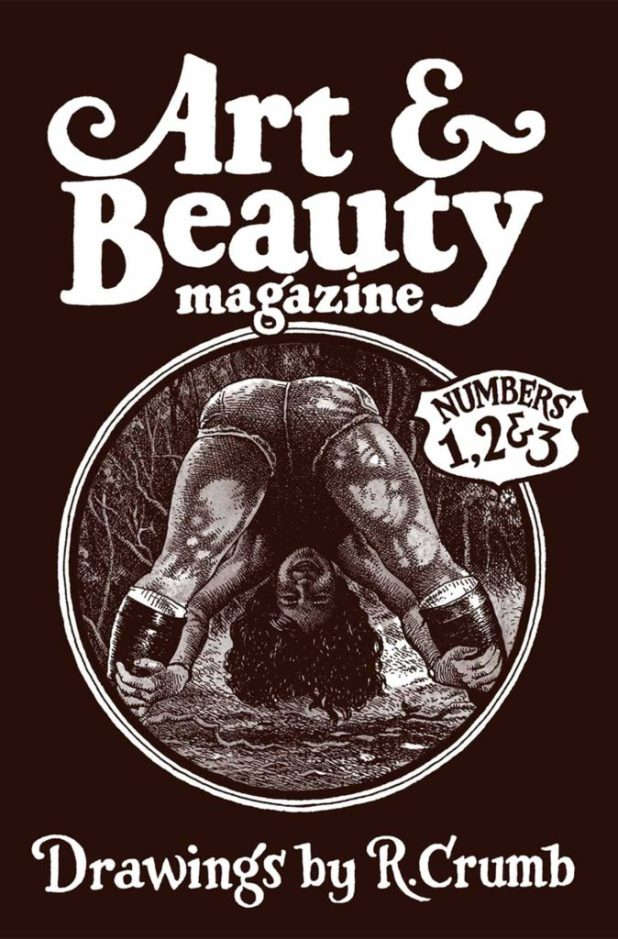 Art & Beauty Magazine: Drawing by R. Crumb